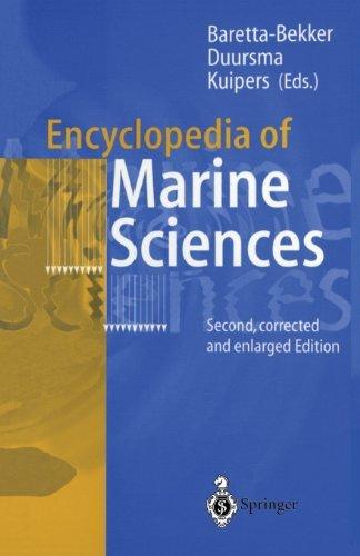 Encyclopedia of Marine Sciences (English Edition)