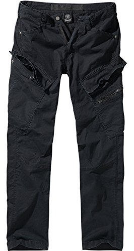 Brandit Adven Slim Fit Trousers - Schwarz M