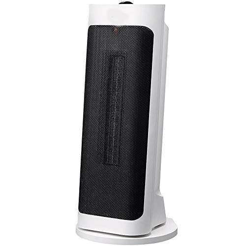 Xiao Heater, elektrische Heizung, Haushalt, Verkippung-Turm, vertikaler Kopf schütteln, Heißluftheizeinrichtung Raumheizkörper (Color : White)