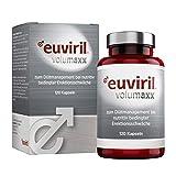 EUVIRIL volumaxx - Der Gefäßaktivator zur natürlichen Penis-Vergrößerung für den aktiven Mann I Maximale Penisgröße & Volumen ohne operativen Eingriff - 120 Kapseln