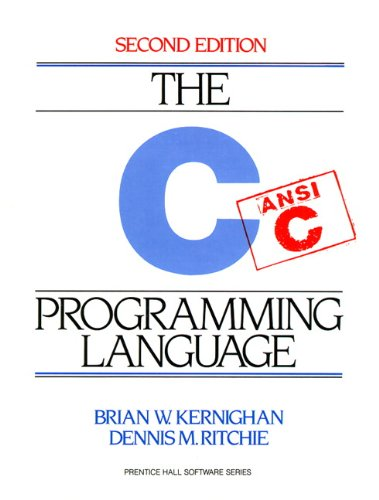 C Programming Language (Prentice Hall Software) por Brian W. Kernighan
