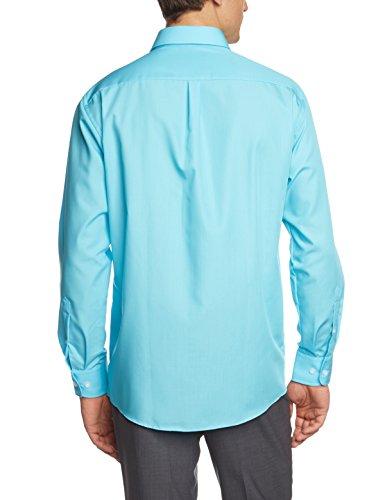Casamoda 006050, Shirt d'Affaires Homme Turquoise (aqua 155)