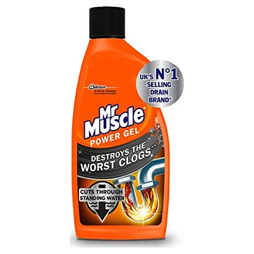 Price comparison product image Mr Muscle Sink and Plug Unblocker 500 ml (Pack of 2)