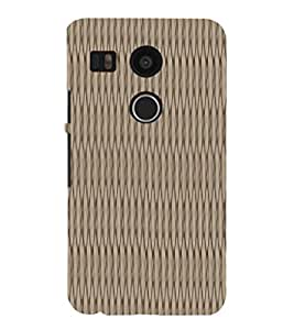 EPICCASE 3D Threads Mobile Back Case Cover For LG Nexus 5x (Designer Case)