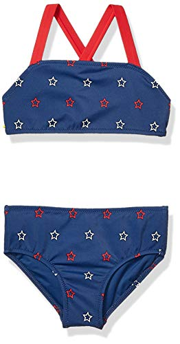 Amazon Essentials 2-Piece fashion-bikini-sets, Blue Star, XL 146 Fashion
