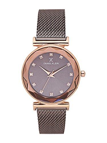 Daniel Klein Analog Grey Dial Women's Watch - DK11404-5