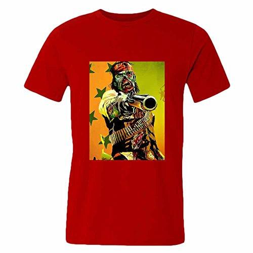 Mens 06 The Walking Dead 100% Cotton T-Shirt Zombie S