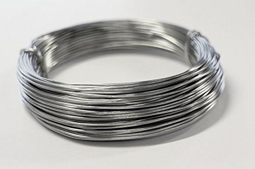 BLACK = Aluminium Wire Jewellery Modelling Florist Wire Crafts