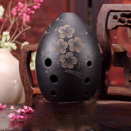 8 Löcher Ocarina Schwarz Xun Musikinstrument for Kinder Anfänger Geschenk Chinesische Flöte Xun Instrument Keramik Ocarina Okarina flöte,4