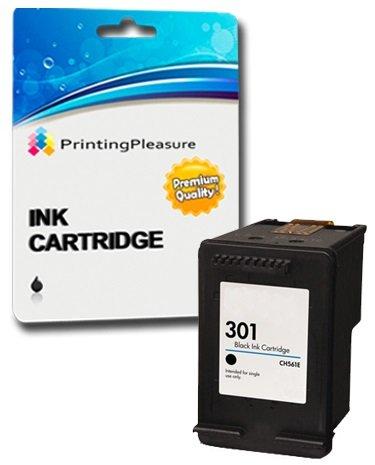 Printing Pleasure XL NERO Cartuccia d'inchiostro compatibile per HP DeskJet 1000 1050 1050A 1050S 1055 2050 2050A 2050se 2510 2540 3000 3050 3050A 3052A 3055A | Sostituzione per HP 301XL (CH563EE)