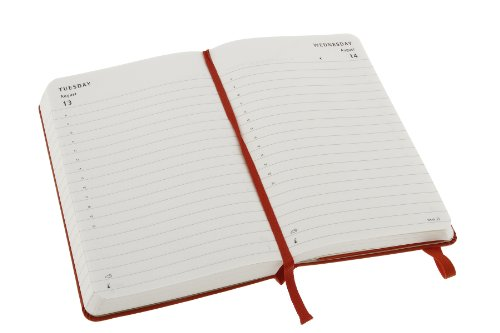 Best Saving for 2013 Moleskine Red Pocket Daily Diary 12 Month Hard on Line