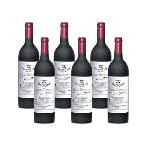 Vega Sicilia Unico - Rotwein - 6 Flaschen