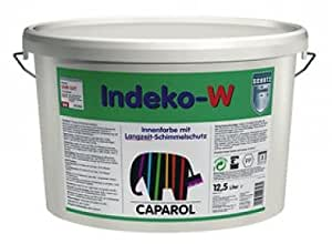 caparol wandfarbe indeko w schimmelschutzfarbe 12 5 l wei. Black Bedroom Furniture Sets. Home Design Ideas