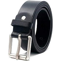 Ossi Hombres cinturón de 38mm para Jeans - tamaños 112cm - 122cm