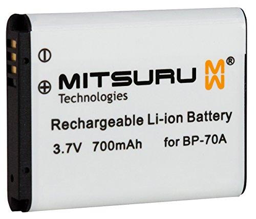 Mitsuru batería para Samsung BP-70A BP70A recambio para Samsung Digimax 10 100 105 120 170 20 200...