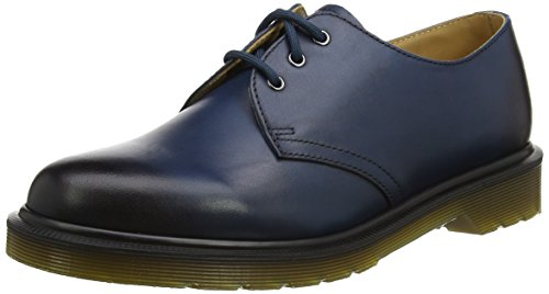Dr. Martens Derby Unisex Adulto-1461 Lace Up Stringata Blu (mare Blu Antico Temperley)