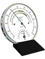 Fischer el clima de vivienda el higrómetro con el termómetro para alinear