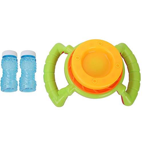 VGEBY1 Bubble Machine,Tragbare Bubble Machine mit Bubble Liquid für Kinder im Freien und im Innenbereich