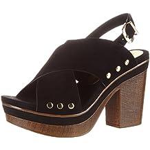 271973645c73 Suchergebnis auf Amazon.de für  Tamaris schwarze Leder-Sandaletten