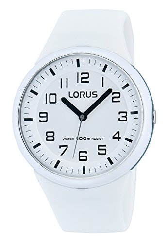 Lorus Watches Damen-Armbanduhr Fashion Analog Quarz Silikon RRX53DX9