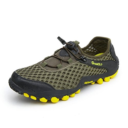 Hommes Chaussures Sports d'escalade de Plein Air Anti-Dérapant Chaussure de Course de Voyage Basse