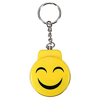 ALCYONEUS Electronic Panic Anti Rape Attack Safety Protection Key Chain Security Alarm (Yellow)