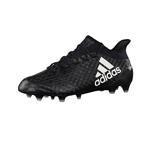 adidas X 16.1 FG, Chaussures de Foot Homme Black
