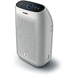Philips Luftreiniger Connected AC1214/10 (für Allergiker, bis zu 63m², CADR 270m³/h, Allergiemodus) mit App-Steuerung