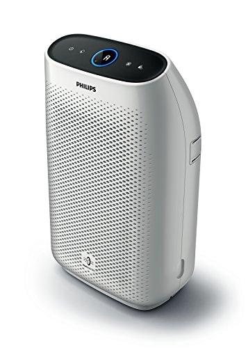 Philips AC1214/10 Luftreiniger Connected (für Allergiker, bis zu 63m², CADR 270m³/h, Allergiemodus, mit App-Steuerung) weiß