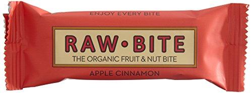 Preisvergleich Produktbild Raw Bite Rohkost Riegel Apple Cinnamon,  12er Pack (12 x 50 g)