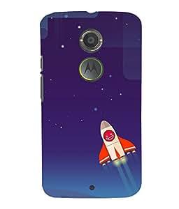 printtech Flaming Football Back Case Cover for Motorola Moto X2::Motorola Moto X (2nd Gen)