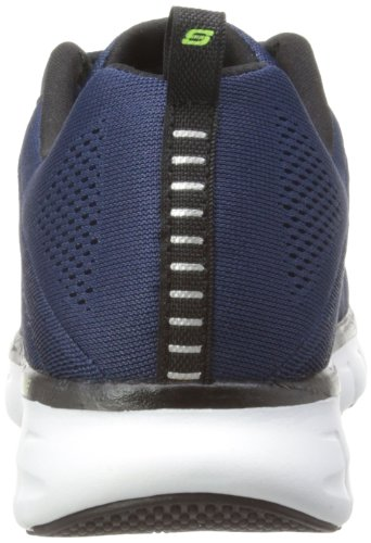 Skechers Synergy Power Switch Herren Sneakers Blau (Nvbk)