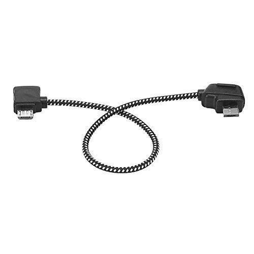 Favrison Reverse 8.15inch Android Tablet Micro USB Kabel für DJI Mavic Pro Fernbedienung, Nylon Datenkabel für Datenkabel Verbindungskabel Anschluss für Android Tab für DJI Mavic Pro / Air-Drohne FPV