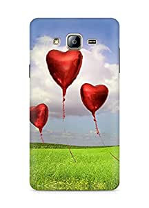 Amez designer printed 3d premium high quality back case cover for Samsung Galaxy ON5 (Love Balloons)