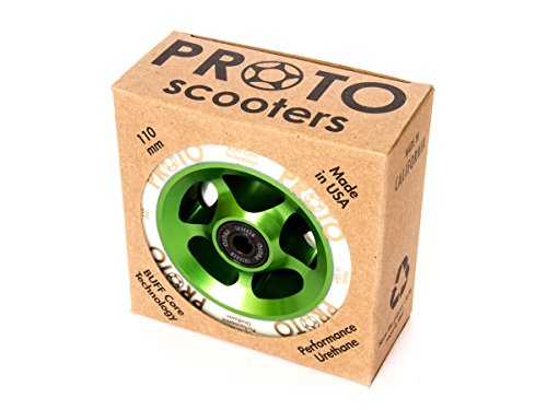Proto Gripper 110mm Stuntscooter Wheel 2er Pack - Grün -