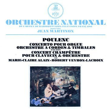 Poulenc : Concerto for Organ and Concert Champetre - Remastered by Marie-Claire Alain (2009-05-11) - Poulenc Concerto Organ
