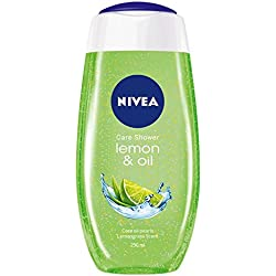 Nivea Care Shower Gel, Lemon and Oil, 250ml