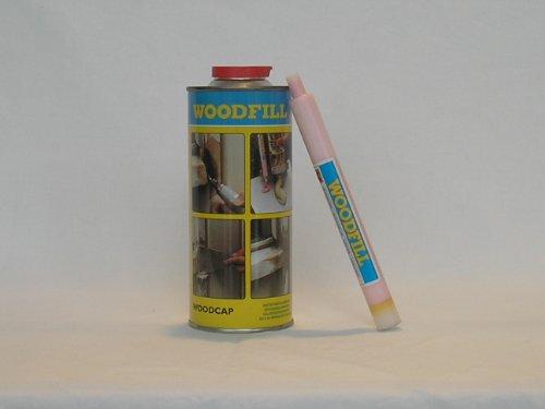 WOODFILL 96856 Reparaturspachtel mit Härter, beige