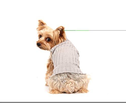 Doggy Dolly W073 Strickpullover für Hunde, grau, Winter, Größe : XXL - 6