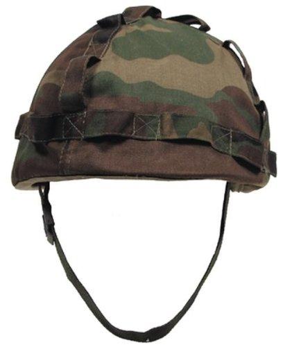 US Helm Kunststoff, mit Stoffbezug