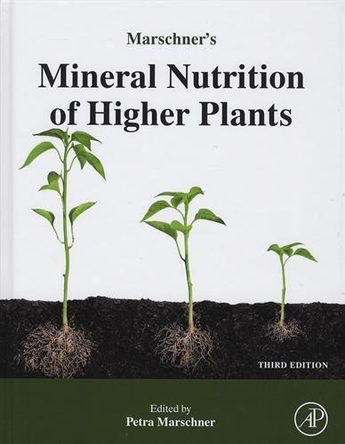 Marschner's Mineral Nutrition of Higher Plants, Third Edition by Horst Marschner (2011-09-08) par Horst Marschner