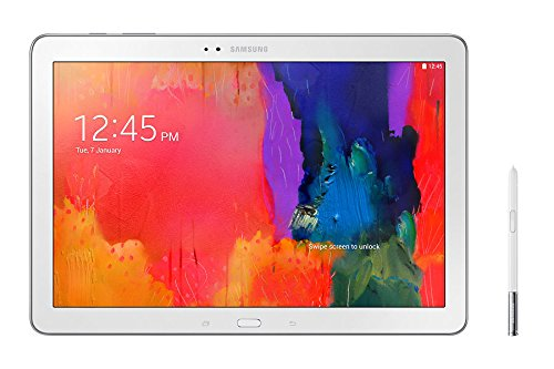 Samsung SM-P605 Galaxy Note 10.1 4G LTE 32GB 2014 UNLOCKED FACTORY - White - International Version No Limited Manufacturer Warranty