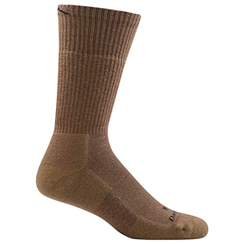 41gHUDG gOL. SS500  - Darn Tough Tactical Boot Cushion Sock - Coyote Brown Large