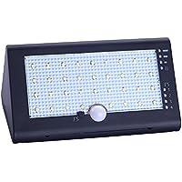 Docooler 35 LED 6W 600LM IP54 Aplique de Pared Accionado por Energía Solar Sensor de Movimiento PIR 4 Modos de IIuminación con Cable USB para Iluminación de las Vías de Entrada del Jardín