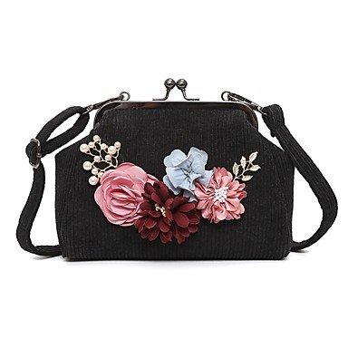 Frauen 's Schöne CasualShoulder Tasche Black