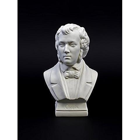 Porcelana-Busto Chopin (galleta)