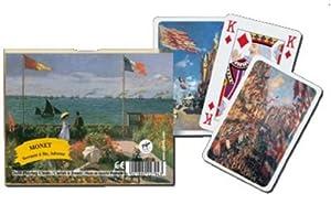 Piatnik 2279 - Baraja de cartas, diseños de Monet Importado de Alemania