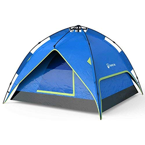 Travelpal quinta 3 tenda 60 secondi quick tent alta qualità tenda da 3 posti poliestere 190t colonna d'acqua 3000mm fibra di vetro