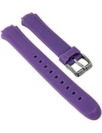 Calypso Watches Ersatzband Uhrenarmband Kunststoff Band alle Modelle K5692, Farbe:helllila