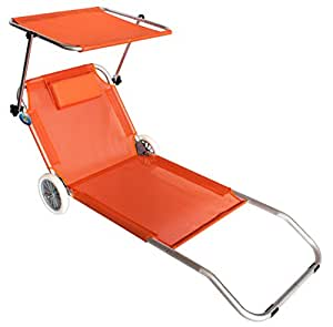 strandstuhl mit rollen sonnenliege f r strand meer. Black Bedroom Furniture Sets. Home Design Ideas